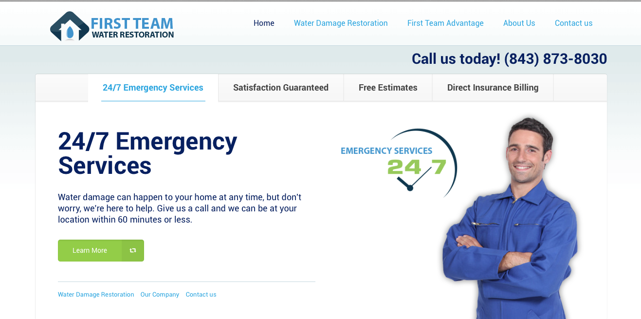 Charleston Water Damage Restoration & Repair